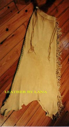 Leather Dresses, hand crafted in native american reproduction style.