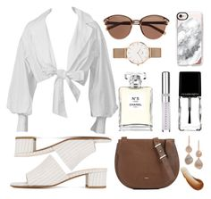 """""""Sin título #34"""" by linjimenez ❤ liked on Polyvore featuring Maryam Nassir Zadeh, Montana, Casetify, Furla, Monica Vinader, Witchery, Daniel Wellington, This Works, Chanel and Chantecaille"""