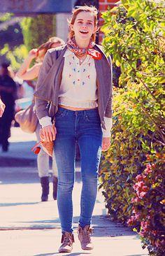 Emma Watson - Shopping in LA, March 9, 2012. #emmawatson