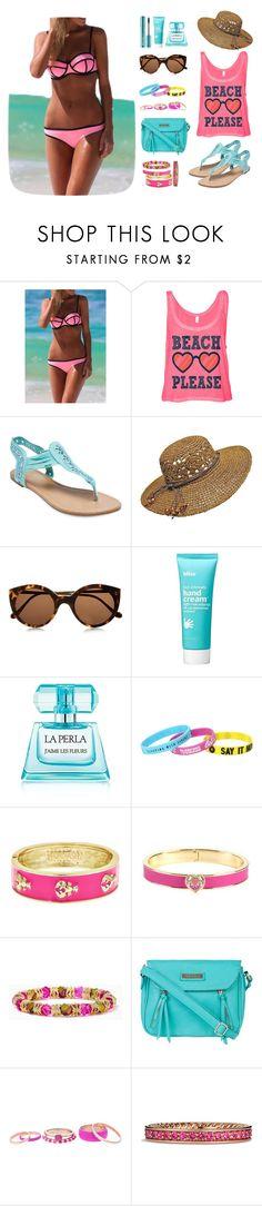 """Sexy Pink Summer"" by disheefashion ❤ liked on Polyvore featuring Wet Seal, Illesteva, Bliss, La Perla, Fornash, Vera Bradley, Fiorelli, Lipsy and David Yurman"