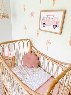 Baby Girl Room Decor, Childrens Room Decor, Big Girl Bedrooms, Girls Bedroom, Peaceful Bedroom, Baby Deco, Cute Room Ideas, Indie Room, Hamptons House