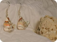 Shells with 'bling' :)