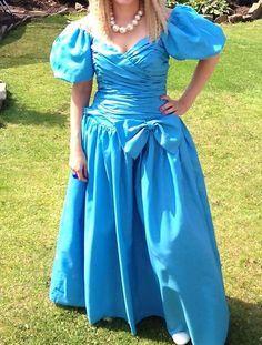 80's bridesmaid blue - Google Search