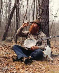 Whiskey, Banjo, Beard... this is what happens when mathematicians and physicist seek more enlightenment