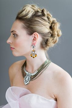 Wedding Hairstyles for Outdoor Weddings - A Rock 'n Roll Braid