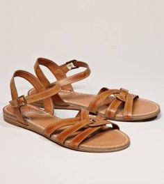 twisted sandal