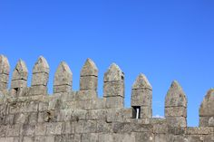 Detail of the battlements of Fernandina Wall.