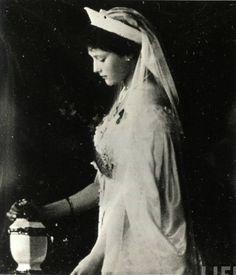 A close-up of Grand Duchess Tatiana in 1913.