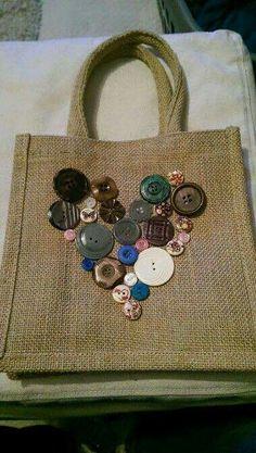 Bolsa com Botões