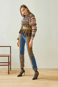 10 Trends From the Fall 2021 Season That Predict Fashion's Future | Vogue New York Fashion, Star Fashion, Fashion News, Boho Fashion, Autumn Fashion, Fashion Trends, Fashion Calendar, Knitwear Fashion, Denim Trends