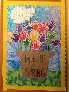 Spring Preschool Bulletin Board