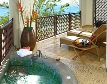 Arenas del Mar private balcony- from Costa Rica Experts Naure & Wildlife vacation packages
