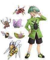 Pokemon Yugioh: Bug Catcher Weevil by artuniqueelemental