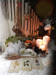 """sylvandreamdesigns: """"I know I'm a day late but Blessed Lammas/Lughnasadh may this first harvest bring you plenty of bounty and more to come before the season is over. Witch Aesthetic, Aesthetic Rooms, Mabon, Magick, Witchcraft, Witch Alter, Witch Cottage, Baby Witch, Witch Decor"""