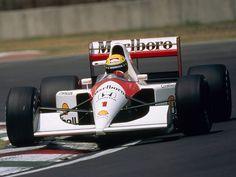 Ayrton Senna da Silva (BRA) (Honda Marlboro McLaren), McLaren MP4/6 - Honda RA121-E 3.5 V121991