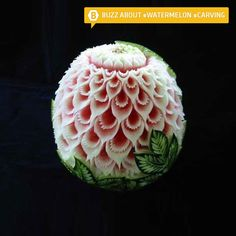 That is NOT a watermelon. That is a MASTERPIECE. #watermelon #carving