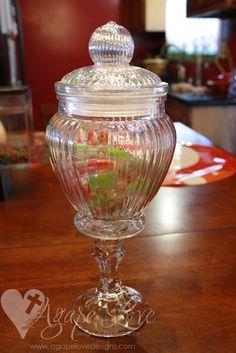 Agape Love Designs & Photography: Dollar Tree Apothecary Jary DIY (do they still carry the jar?)