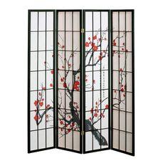 4 panel Cherry Blossom Design Room Divider, 4-PANEL, BLACK Home Decorators Collection http://www.amazon.com/dp/B0026I0ZN6/ref=cm_sw_r_pi_dp_TjaJtb0XKEEBRJ2J