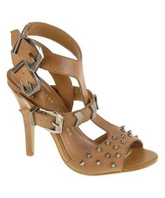 This Nut Ladies Night Leather Sandal is perfect! #zulilyfinds