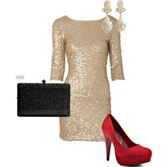 New Years Eve outfit New Years Eve Dresses, New Years Outfit, New Year's Eve Looks, Stylish Outfits, Cute Outfits, Dress Outfits, Fashion Dresses, Moda Casual, Fashion Beauty