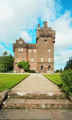 Brodick Castle, Brodick, Arran, North Ayrshire, Isle of Arran, Scotland. Stewart went here when he was 14.