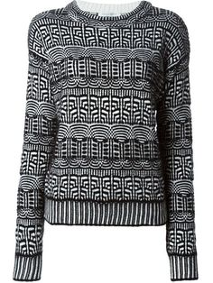 Shop Viktor & Rolf patterned sweater in Stefania Mode from the world's best independent boutiques at farfetch.com. Over 1500 brands from 300 boutiques in one website.