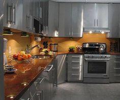Modern, Unique, Very Different Kitchen