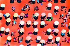 "Saatchi Art Artist ACQUA LUNA; Painting, ""9- Playa rosa."" #art"