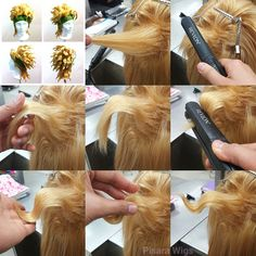 """pisaracos: """" Throwback Thursday styling tips! Since I wasn't feeling well and missed the chance to upload this week's Wednesday Wig Hack, a friend of mine suggested that it would be a cool idea to..."""
