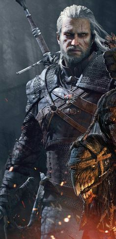 CD Projekt RED wants to make more Witcher games The Witcher Wild Hunt, The Witcher 3, Witcher Art, Witcher 3 Geralt, Dark Fantasy, Fantasy Art, Fantasy Series, Witcher Wallpaper, Gaming Wallpapers