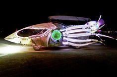 Burningman artcars | Art Car - Burning Man 2012