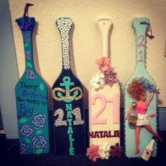 The Barbie 😂 Sorority Paddles, Sorority Crafts, Sorority Life, Kappa Alpha Theta, Phi Mu, Kappa Delta, 21st Birthday Paddle, 21 Birthday, 21 Bday Ideas
