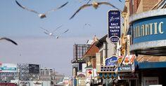 Exploring the Boardwalk Empire - James' Salt Water Taffy in Atlantic City, founded in 1880