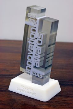 1st Annual East Bay Innovation Awards - 3D printed multi-material trophy
