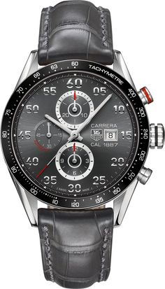 TAG Heuer Carrera Calibre 1887 Automatic Chronograph Wrist Watch for Men for sale online Mens Sport Watches, Luxury Watches For Men, Tag Heuer Carrera Calibre, Skeleton Watches, Swiss Army Watches, Seiko Watches, Tag Watches, Beautiful Watches, Elegant Watches