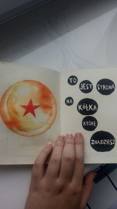 """#wreckthisjournal  #otaku """" This is the page for the circles you will find"""" Any Dragon Ball lovers? x3"""