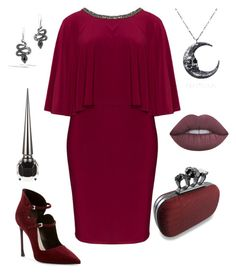 """""""Time for Saturday night sexy"""" by sharema-smith on Polyvore featuring Lovedrobe, Christian Dior, John Hardy, Christian Louboutin and Lime Crime"""
