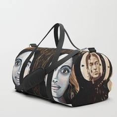 TIC TOC and FRIDA - duffle bag by GALERIE FREIRAUM