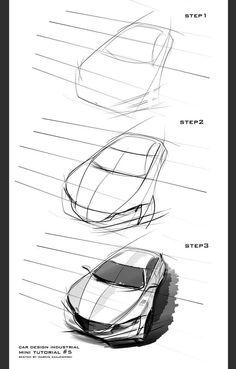 Car Line Sketch, Car Sketch, Car Design Sketch, Car Illustration, Sketch Inspiration, Transportation Design, Drawing Techniques, Car Photos, Car Drawings