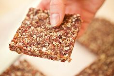 Introducing: DIY Energy Bars. Deliciously addictive, packed with protein, naturally vegan, and gluten-free.