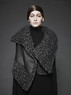 Sunghee-bang-knitwear-FW-2012-polygon+knit+leather+vest.jpg 1200×1600 пикс