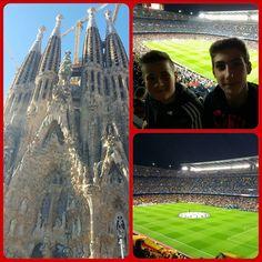 Barcellona Barcellona - Bate Borisov #barcellona #campnou #city #championsleague #sagradafamilia #fcbarcelona by luigi.irsara