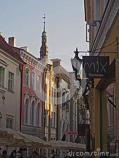 The Old Town of Tallinn, Estonia