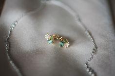 simple wedding jewelry - anthropologie - Heritage Prairie Farm wedding - Elite Photo