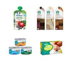 New Coupons: Starbucks, Gerber, Pampers   More!