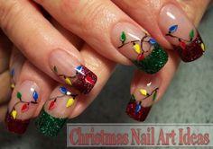 unique nail art ideas | Two Unique Christmas Nail Art Ideas - Nail Art Designs Gallery ...