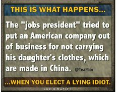 """Jobs"" president threatens to put company out of business because they stop carrying his adult daughter's clothing line.  What do you call him? Bully, you call him a bully."