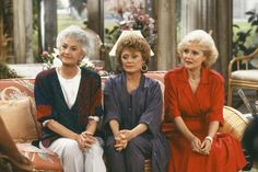"""Blanche: """"I'm from the South. Flirting is part of my heritage."""" Rose: """"What does that mean?"""" Dorothy: """"Her mother was a slut, too."""""""