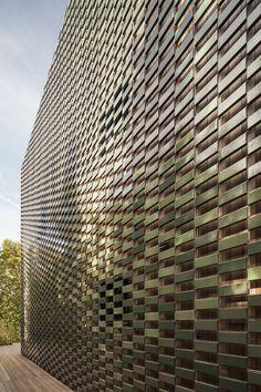 Flexbrick detalle fachada colgante