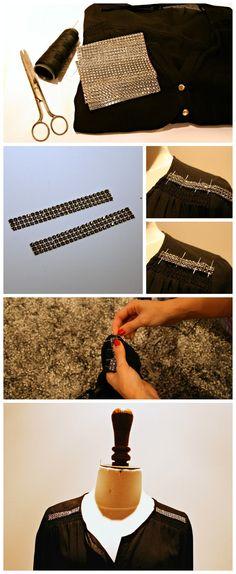 Que ficha eres tu?: DIY: Blusa con un toque especial